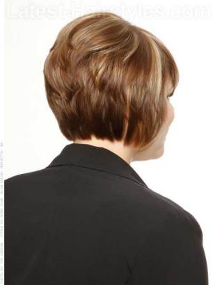 Layered Back Short Bobs For Women